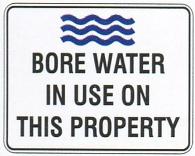 Bore Water testing